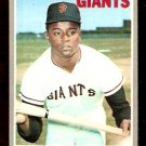 SAN FRANCISCO GIANTS TITO FUENTES 1970 TOPPS # 42 VG