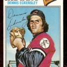 CLEVELAND INDIANS DENNIS ECKERSLEY 1977 TOPPS # 525 G/VG