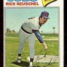 CHICAGO CUBS RICK REUSCHEL 1977 TOPPS # 530 EX