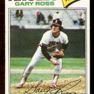 CALIFORNIA ANGELS GARY ROSS 1977 TOPPS # 544 VG