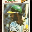 OAKLAND ATHLETICS BILL NORTH 1977 TOPPS # 551 good