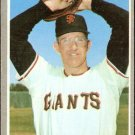 SAN FRANCISCO GIANTS FRANK LINZY 1970 TOPPS # 77 VG