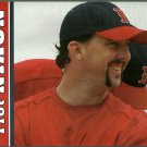 BOSTON RED SOX TROT NIXON 2005 PIN UP PHOTO