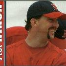 BOSTON RED SOX TROT NIXON 2005 PINUP PHOTO