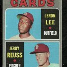ST LOUIS CARDINALS ROOKIE STARS JERRY REUSS LERON LEE 1970 TOPPS # 96 EX+