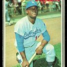 LOS ANGELES DODGERS MANNY MOTA 1970 TOPPS # 157 EX/NM