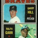 ATLANTA BRAVES ROOKIE STARS RALPH GARR GARRY HILL 1970 TOPPS # 172 VG