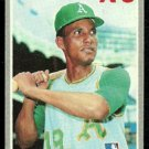 OAKLAND ATHLETICS BERT CAMPANERIS 1970 TOPPS # 205 EX/EM