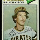 PITTSBURGH PIRATES BRUCE KISON 1977 TOPPS # 563 good