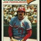 ST LOUIS CARDINALS JOE FERGUSON 1977 TOPPS # 573 good