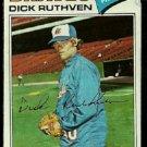 ATLANTA BRAVES DICK RUTHVEN 1977 TOPPS # 575 good