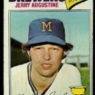 MILWAUKEE BREWERS JERRY AUGUSTINE 1977 TOPPS # 577 good