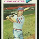 TEXAS RANGERS DAVE MOATES 1977 TOPPS # 588 VG