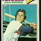 CALIFORNIA ANGELS DAN BRIGGS 1977 TOPPS # 592 good