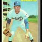 LOS ANGELES DODGERS CLAUDE OSTEEN 1970 TOPPS # 260 EX/EM