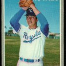 KANSAS CITY ROYALS WALLY BUNKER 1970 TOPPS # 266 EX