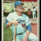 LOS ANGELES DODGERS BILL SUDAKIS 1970 TOPPS # 341 VG