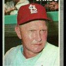 ST LOUIS CARDINALS RED SCHOENDIENST 1970 TOPPS # 346 EX EM