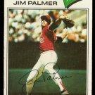 BALTIMORE ORIOLES JIM PALMER 1977 TOPPS # 600 VG