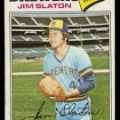 MILWAUKEE BREWERS JIM SLATON 1977 TOPPS # 604 VG