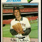SAN FRANCISCO GIANTS JIM BARR 1977 TOPPS # 609 G/VG