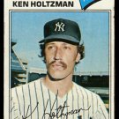 NEW YORK YANKEES KEN HOLTZMAN 1977 TOPPS # 625 G/VG