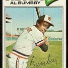 BALTIMORE ORIOLES AL BUMBRY 1977 TOPPS # 626 VG