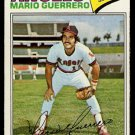 CALIFORNIA ANGELS MARIO GUERRERO 1977 TOPPS # 628 EX