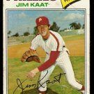 PHILADELPHIA PHILLIES JIM KAAT 1977 TOPPS # 638 fair