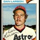 HOUSTON ASTROS DAN LARSON 1977 TOPPS # 641 VG+