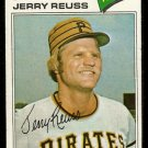 PITTSBURGH PIRATES JERRY REUSS 1977 TOPPS # 645 VG
