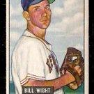 BOSTON RED SOX BILL WIGHT 1951 BOWMAN # 164 EX