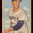 BOSTON RED SOX MAURICE McDERMOTT 1952 BOWMAN # 25 VG