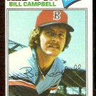 BOSTON RED SOX BILL CAMPBELL 1977 TOPPS # 166 NR MT