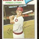 BOSTON RED SOX FRED LYNN 1977 TOPPS # 210 EX MT