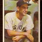 BOSTON RED SOX LOU BOUDREAU 1953 BOWMAN COLOR # 57 VG