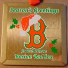 BOSTON RED SOX 2010 LIMITED EDITION CHRISTMAS ORNAMENT
