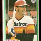HOUSTON ASTROS ART HOWE ROOKIE CARD RC 1978 TOPPS # 13 EX