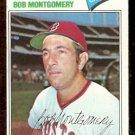 BOSTON RED SOX BOB MONTGOMERY 1977 TOPPS # 288 VG