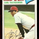 BOSTON RED SOX CARL YASTRZEMSKI YAZ 1977 TOPPS # 480 VG/EX