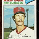 BOSTON RED SOX RICK BURLESON 1977 TOPPS # 585 NR MT