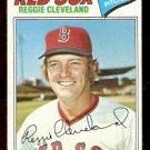 BOSTON RED SOX REGGIE CLEVELAND 1977 TOPPS # 613 VG