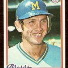 MILWAUKEE BREWERS DON MONEY 1978 TOPPS # 24 VG/EX