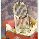 2004 BOSTON RED SOX TEAM ISSUED LIMITED EDITION CHRISTMAS CARD WORLD CHAMPIONS