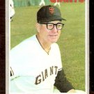 SAN FRANCISCO GIANTS CLYDE KING 1970 TOPPS # 624 EX/EM