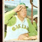 OAKLAND ATHLETICS DAVE DUNCAN 1970 TOPPS # 678 fair
