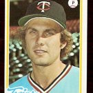 MINNESOTA TWINS TOM JOHNSON 1978 TOPPS # 54 EX/NM