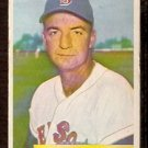 BOSTON RED SOX DEL WILBER 1954 BOWMAN # 178 VG/EX