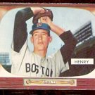 BOSTON RED SOX BILL HENRY 1955 BOWMAN # 264 EX/EM