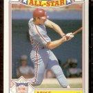 PHILADELPHIA PHILLIES MIKE SCHMIDT 1987 TOPPS GLOSSY ALL STAR # 4